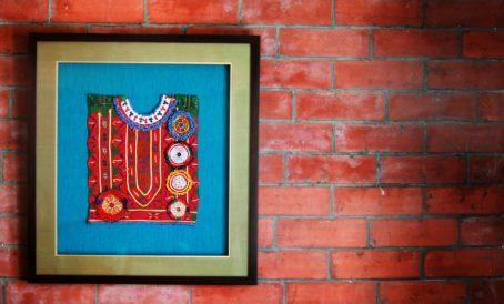 Rangsaga wall art