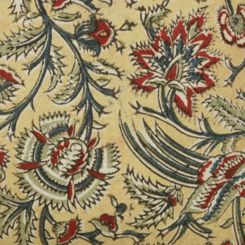 Cushions Cotton Kalamkari Allover Floral 16 Multi