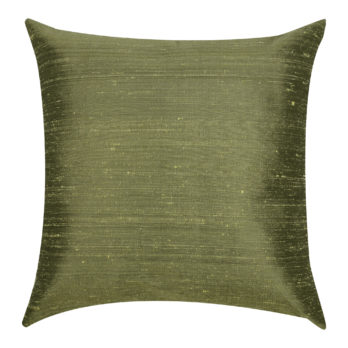 Cushions Khadi Silk Plain Gen 16 Green