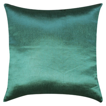 Cushions Poly Silk Pearl work Horizontal panels 16 Blue